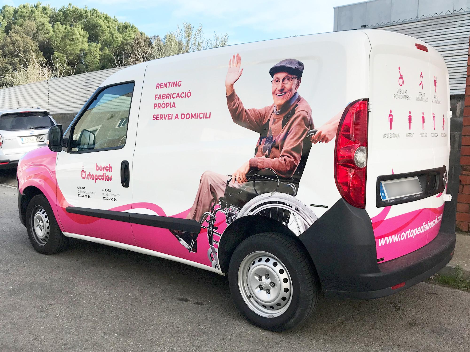 Retolacio furgoneta Bosch Ortopedics 3