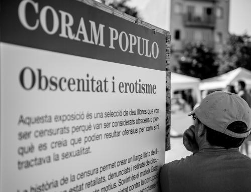 Exposició CORAM POPULO. Obscenitat i erotisme